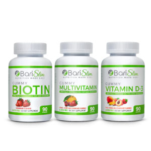 Bariatric Multivitamim Gummy 3 Pack (Multivitamin, Biotin, Vitamin D-3)