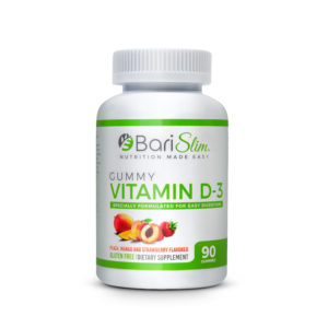 Bariatric Vitamin D-3 Gummy 90 Count