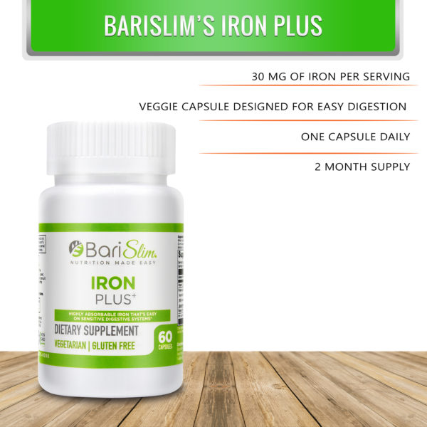 Bariatric Iron Plus Infographic