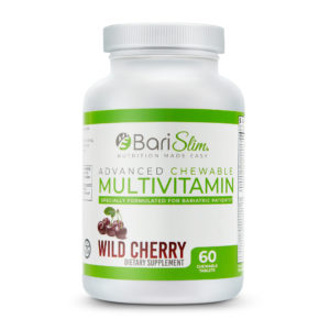 Advanced Chewable Bariatric Multivitamin Wild Cherry 60 Tablets