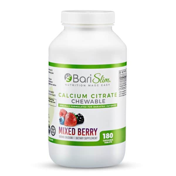 Calcium Citrate Chewable Mixed Berry